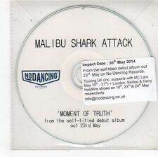 (FS453) Malibu Shark Attack, Moment Of Truth - 2014 DJ CD