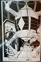 John Romita Jr. Batman Dark Days The Forge 1 Pg 16 Original Art Page DC Comics