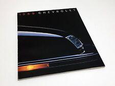 1989 Chevrolet Corsica Beretta Camaro Corvette Celebrity Caprice Brochure