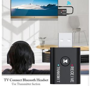 Trasmettitore Bluetooth audio per TV e hi-fi per cuffie e auricolari smartphone