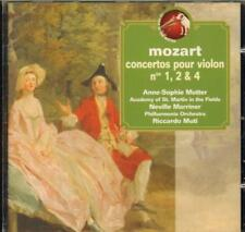 Anne Sophie Mutter(CD Album)Mozart Conc Violon 1 2 4-New