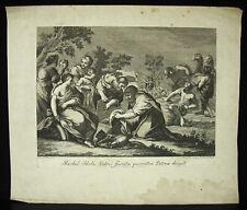 Rachel Jacob et les idoles P de Colle Nicolo CAVALLI PIERRE DE CORTONE c1770