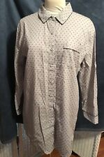 Victoria Secret Loose Pajamas Top Only New With Tags Gray Color