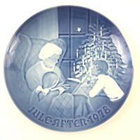 B&G Bing Grondahl 9078 A Christmas Tale Collectors Plate