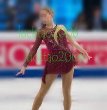 2018 new style Figure skating Ice Skating Dress Gymnastics Costume #80004