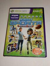 Kinect Sports: Season Two (Microsoft Xbox 360, 2011)  COMPLETE