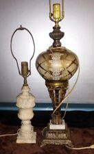 Pair of Mid Century Italian Made Lamps - Exquisite condition - Various