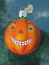 Halloween Inside Out Art Pumpkin Little Witch Ornament Old World Christmas OWC