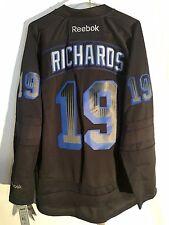 Reebok Premier NHL Jersey New York Rangers Brad Richards Black Accelerator  sz L d9cbd8480