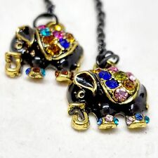 for Magnetic Tunnels, Without Tu Magnificent Jeweled King Elephant Dangle Chains