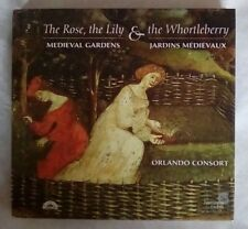 The Rose Lily & Whortleberry, Medieval Gardens, Orlando Consort CD digibook