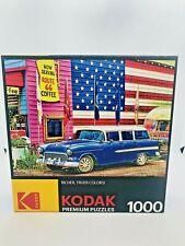 Kodak Premium Puzzles: Route 66 1000PC Puzzle factory seal