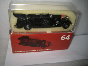 1/43 RIO 1942 MERCEDES 770K HITLER'S PERSONAL PARADE STAFF CAR WWII #64 AS NEW