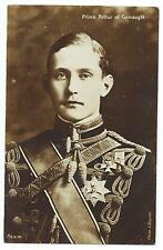 ROYALTY  - PRINCE ARTHUR of CONNAUGHT in Uniform  Aristophot Real Photo Postcard