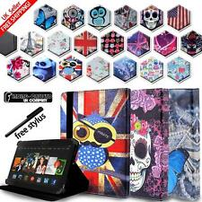 "Cubierta Funda de Cuero Para Amazon Kindle Fire 7"" (9th Generación) 2019 Tablets"