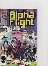 Alpha Flight #33 - 1st App Lady Deathstrike - 1986 (Grade 9.2) WH