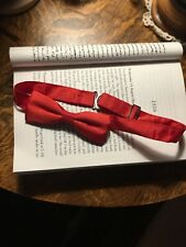 Silk Mens Bow Ties Pre-Tied Bowtie Valentines Day Gift