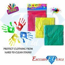 Children Plastic Waterproof Apron For Creative Arts Painting, Craft, 3 - 9 Years