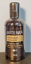 DOTERRA FRACTIONATED COCONUT OIL - 3.8 OZ - NEW/SEALED! USE WITH ESSENTIAL OILS!