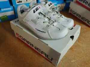 New - Louis Garneau Multi-Lite Women`s Cycling Shoes White Size 38 - #2