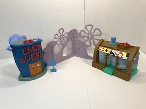 Fisher Price Imaginext SpongeBob SquarePants Krusty Krab & Chum Bucket Playset