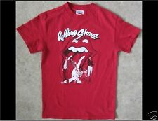 THE ROLLING STONES Size Small Red T-Shirt