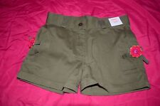 Nwt Sz 3 Gymboree Girls Toddler Olive Green Shorts Fiesta Del Sol ~ Twins