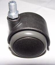 Stuhlrolle Hartbodenrolle 50 mm Gewinde 10 mm für Laminat Fliesen Parkett