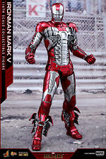 Hot Toys Iron Man 2 - 1/6th scale Mark V Diecast Collectible Figure MMS400D18