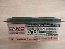 CAMO Marksman Pro Hidden Deck Screws 48mm long - Protech Coated