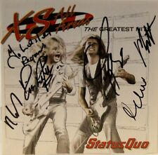 Status Quo Fully Signed Greatest Hits CD