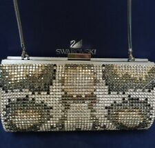 Authentic Genuine Swarovski Bag. Crystal Clutch. Excellent Condition. Msrp $1000