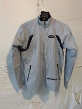 Sportful Men's Windproof Fleece Lined Cycling Jacket Large Silver