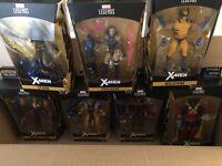 X-Men Marvel Legends Wave 3 Set of 7 Figures (Apocalypse BAF)