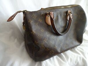 Authentic Louis Vuitton Speedy 30 Monogram Bag (Not in Great Condition)