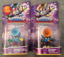 Skylanders SUPERCHARGERS LOT/2 Birthday Bash & Big Bubble Pop Fizz PS3/PS4/XBOX