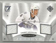 2008-09 Ultimate Collection Hockey Vincent Lecavalier Dual Jersey Card # 88/100