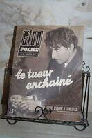 Antiguo Revista - Stop Police - N º 38 Abril 1947 - El Asesino Encadenados