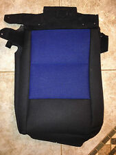 2006 Ford Ranger Factory Original RH/PASS Seat Cover (Black/Blue Cloth)