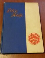 Rare 1898  Los Angeles High School Yearbook   The Blue and White