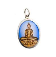 Colgante Medalla Lord Buda Thai Cerámica Buda 8021