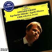Grieg: Lyric Pieces / Emil Gilels ~ NEW CD (Nov-1996, DG/Deutsche Grammophon)