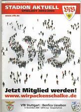 PRG     UEFA Cup  04/05    VfB STUTTGART - B.LISSABON !