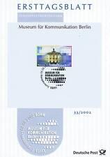 BRD 2002: Kommunikationsmuseum Berlin Ersttagsblatt Nr 2276 Bonner Stempel! 1710