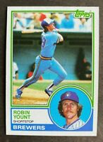 1983 Topps Robin Yount #350 - Milwaukee Brewers - HOF - NM-MT