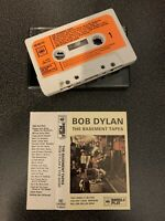 BOB DYLAN - THE BASEMENT TAPES (RARE DOUBLEPLAY UK CASSETTE TAPE)