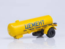 "Scale model trailer 1:43 Semitrailer-cement truck TC-4 ""Cement"""