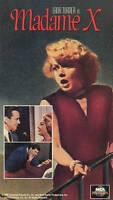 Madame X (VHS, 1992) Lana Turner-John Forstyhe-SEALED