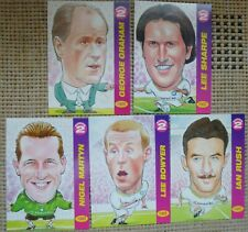 LEEDS UNITED FOOTBALL CARDS PROMATCH 97 SERIES 2 Pro MatchTrading Cards x5
