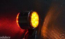 2x Red Amber 24V LED Side Marker Lights Truck Lkw Trailer for DAF Scania MAN